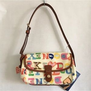 Dooney & Bourke Coated Canvas/Leather East/West